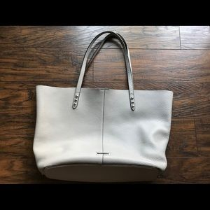 Rebecca Minkoff Putty Unlined Tote w/ Dome Studs
